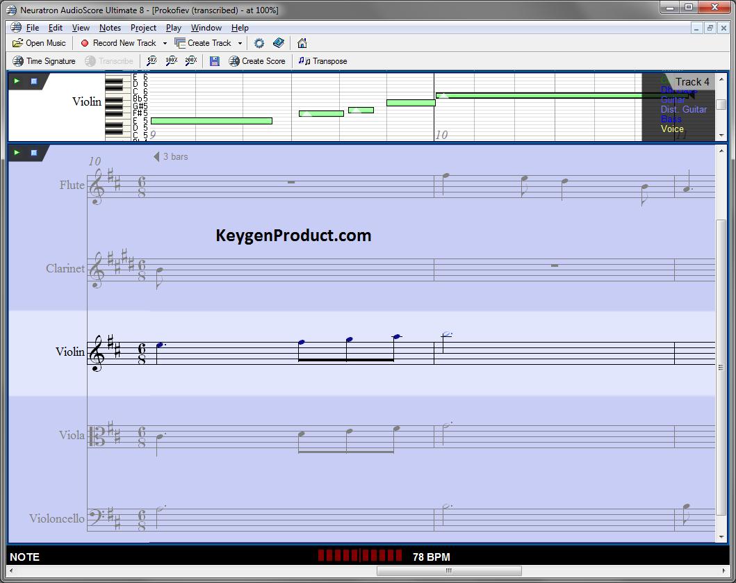 AudioScore Ultimate Crack